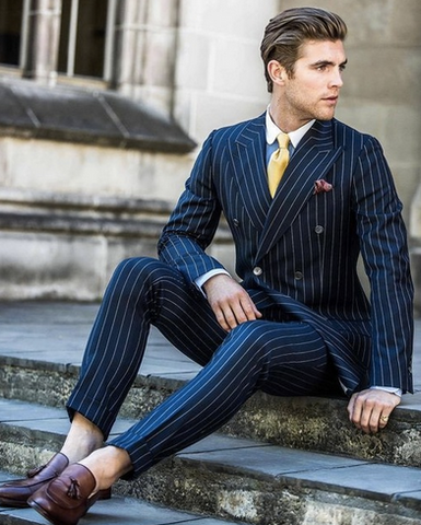 Double-breasted Suit by Scotch and Rich