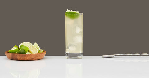 Bourbon Rickey by Scotch and Rich