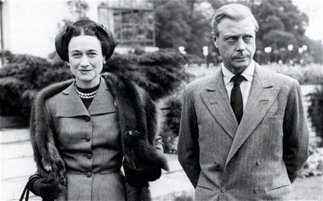 Duke of Windsor in Double-Breasted Suit
