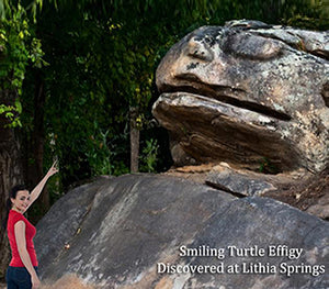 Lithia Spring Water's World's Biggest Smiling Turtle stands over 30 feet high thousands of years old