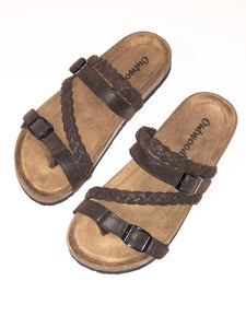 Bork Brown Sandal - Womens