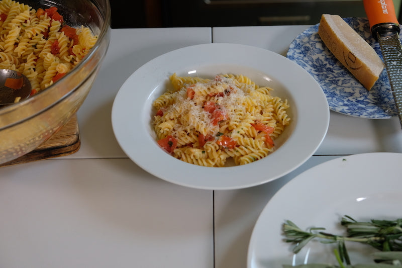 Marcella Hazan's Pasta with Four Herbs