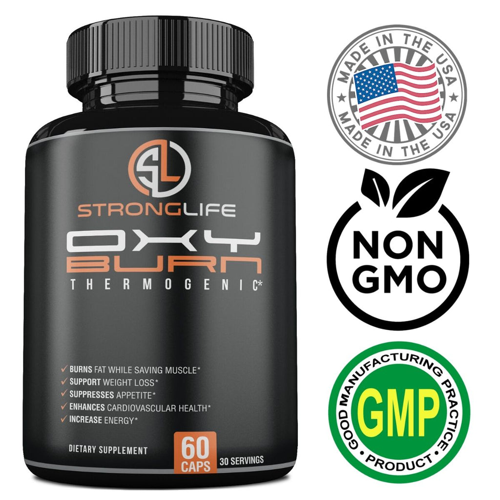 Stronglife Best Fat Burner Weight Loss Diet Pill Appetite Suppressant