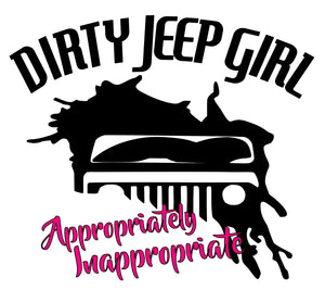 Dirty Jeep Girl