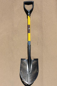 Mud Shovel 40 Inch Long Steel Black/Yellow Krazy Beaver