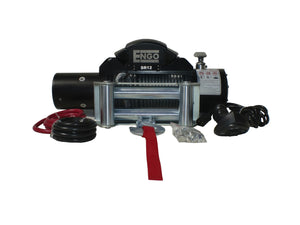 SR MODEL 12,000 lb. 12 Volt Electric Winch
