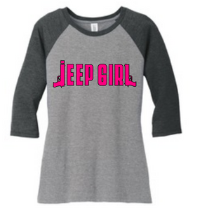 "Jeep Girl T-shirt ""Guns"""