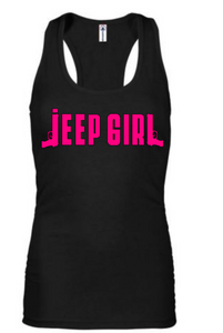 "Jeep Girl ""Guns"" Tank"