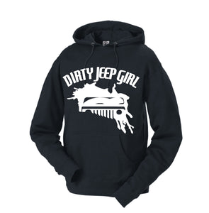 Dirty Jeep Girl Logo Hoodie