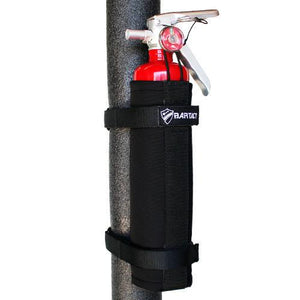 Roll Bar Fire Extinguisher Mount 2.5 LB Black Bartact