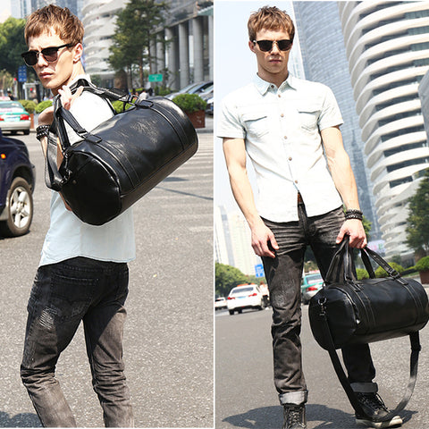 Duffle Bag PU Leather Travel Bags