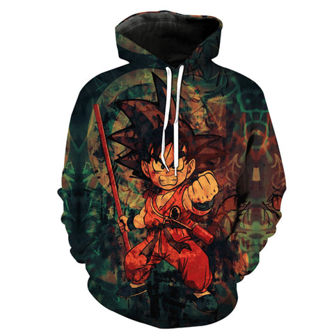 3D Hoodie Dragon Ball Z Printed for Mens