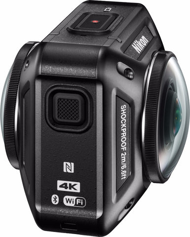 360 Wi-Fi 4K Action Camera 32GB SD Card