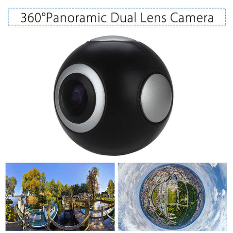 Mini Lens Video  Panoramic 360° Camera
