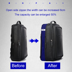 Anti Theft Laptop Multifunction Backpack USB External Charge