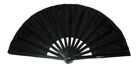 Black Red Tai Chi Fan