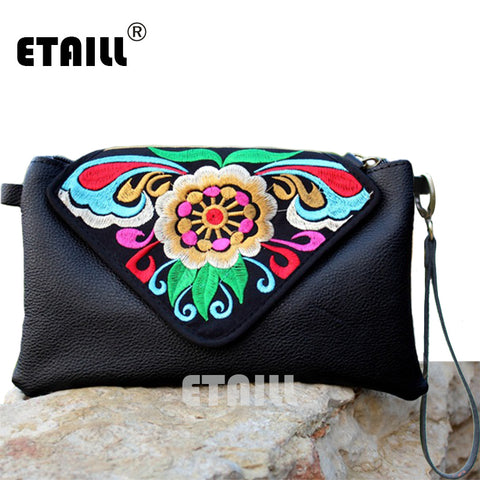 Embroidered Bags Women Messenger Bags Ethnic Boho Embroidery