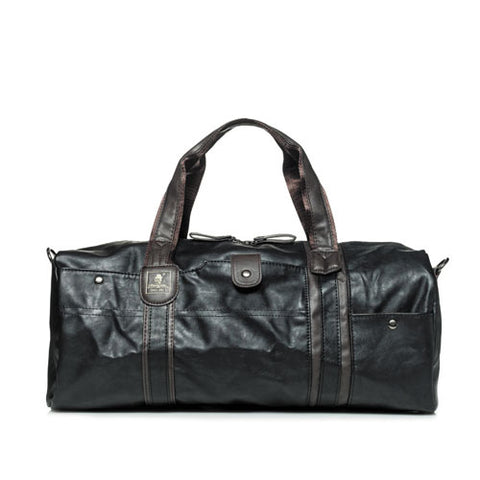 Waterproof Vintage Men's Leather Travel Duffle Bags