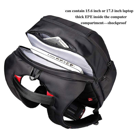 Anti Theft Backpacks With USB Charge Port Bag