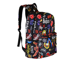 Rock Band School Backpack Rucksack