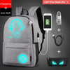 Image of Teenagers School Bags with free USB+Pen Bag+Antitheft Lock Backpack