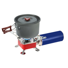 Stainless Steel Backpacking Gas Stove