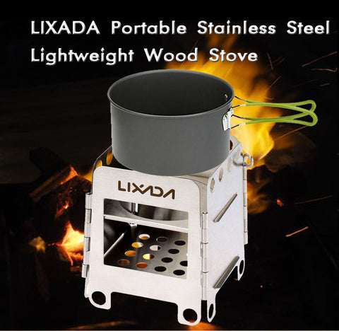 Portable Survival  Wood Stove