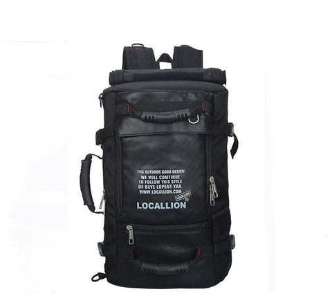 45L Capacity Outdoor Waterproof Multifunction Backpack