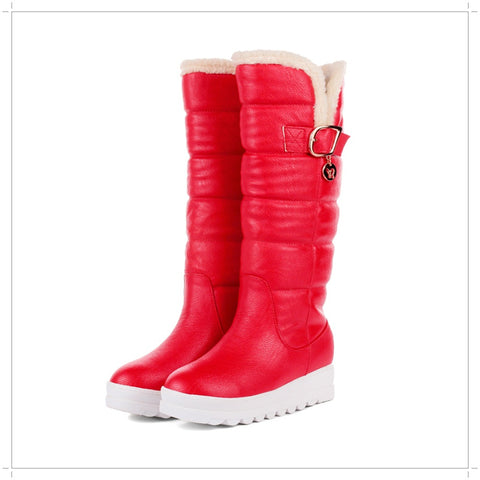 Round Nose Winter Snow Boots