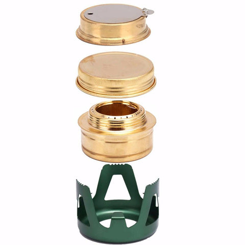 Mini Portable Spirit Burner Alcohol Stove