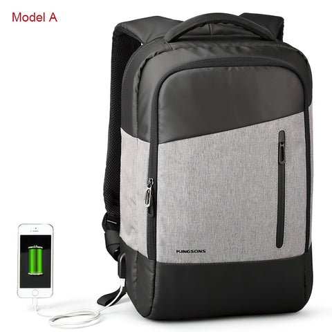 Laptop External USB Charge Anti Theft Computer Backpacks