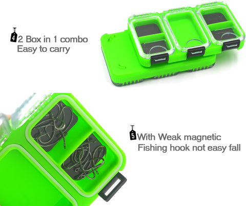 Fishing Tackle Box With Magnetic