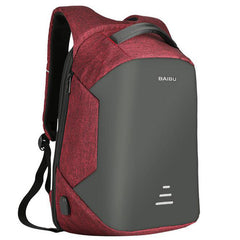 Waterproof Anti Theft Backpack  With USB