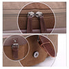 Image of Multifunctional Duffle Bags Vintage Leather Canvas