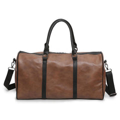 PU Leather Travel Bag Stylish Duffel Bags