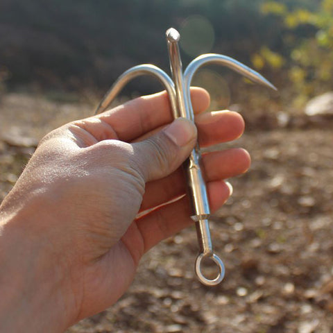 Stainless Steel Mountaineering Claw Carabiner