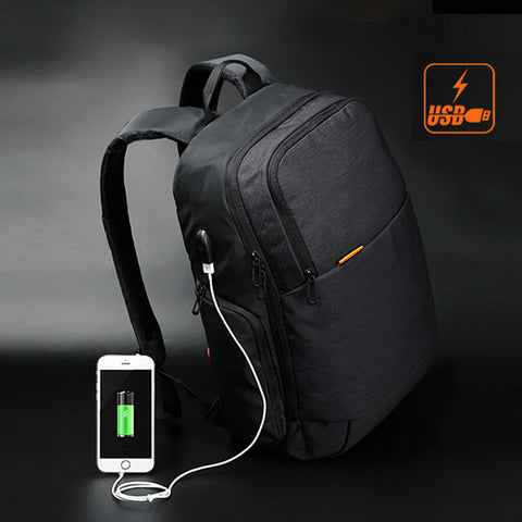 Anti Theft with USB Charger Waterproof Backpack