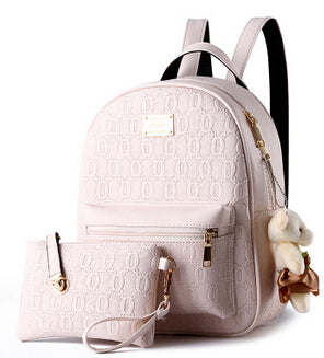 Fashion Women Leather Backpacks