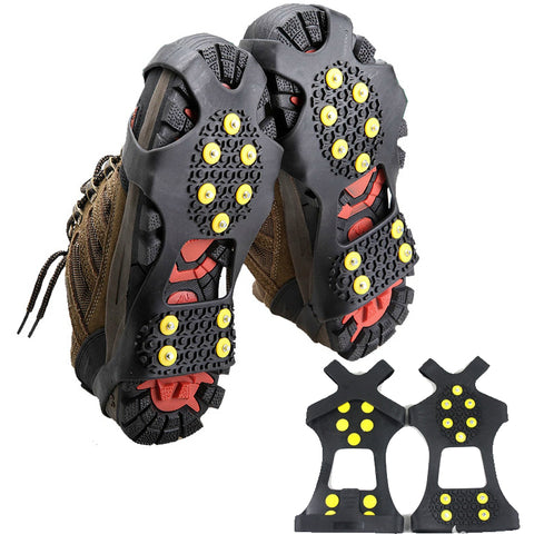 Mountaineering Crampons Elastic Magic Spike Shoes