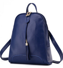Women 's PU Leather Backpack