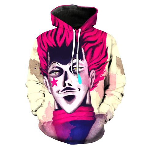 Hunter x Hunter Hisoka Death Pocket 3D Hoodie