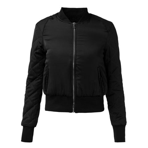 ZANZEA 2017 Autumn Winter Warm Women Short Bomber Jacket