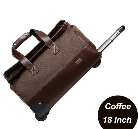 Unisex Trolley Travel Bags On Wheels