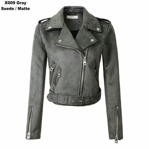 New Winter Suede Faux Leather Jackets