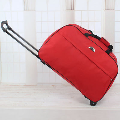 Wheel Luggage Bags Metal Trolley Bag