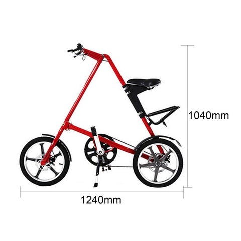 14 / 16 inch Universal Folding Bicycle Aluminum Alloy Bike Wheels