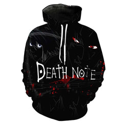 Death Note Cold Dark 3D Hoodie