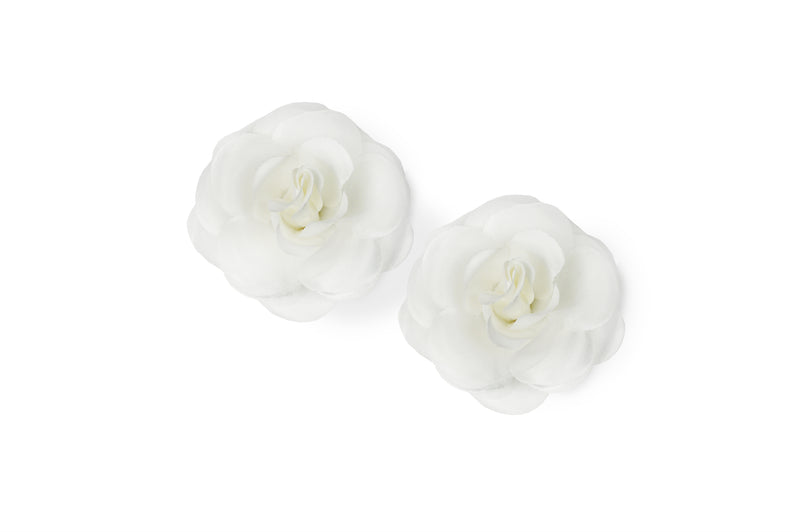 Beige White paired with 2 sets of Camellia (Black & White)
