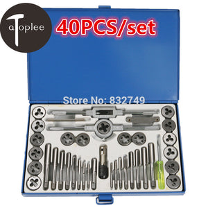 40Pcs/ Tool Set Metric Thread, Tap & Die Set Used For Electric Tools For All you Metric TaP & Die needs
