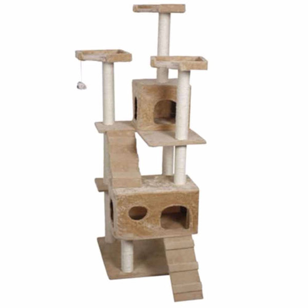 Cat Climbing Tree, Ladder Climbing, & Scratching Post all in one
